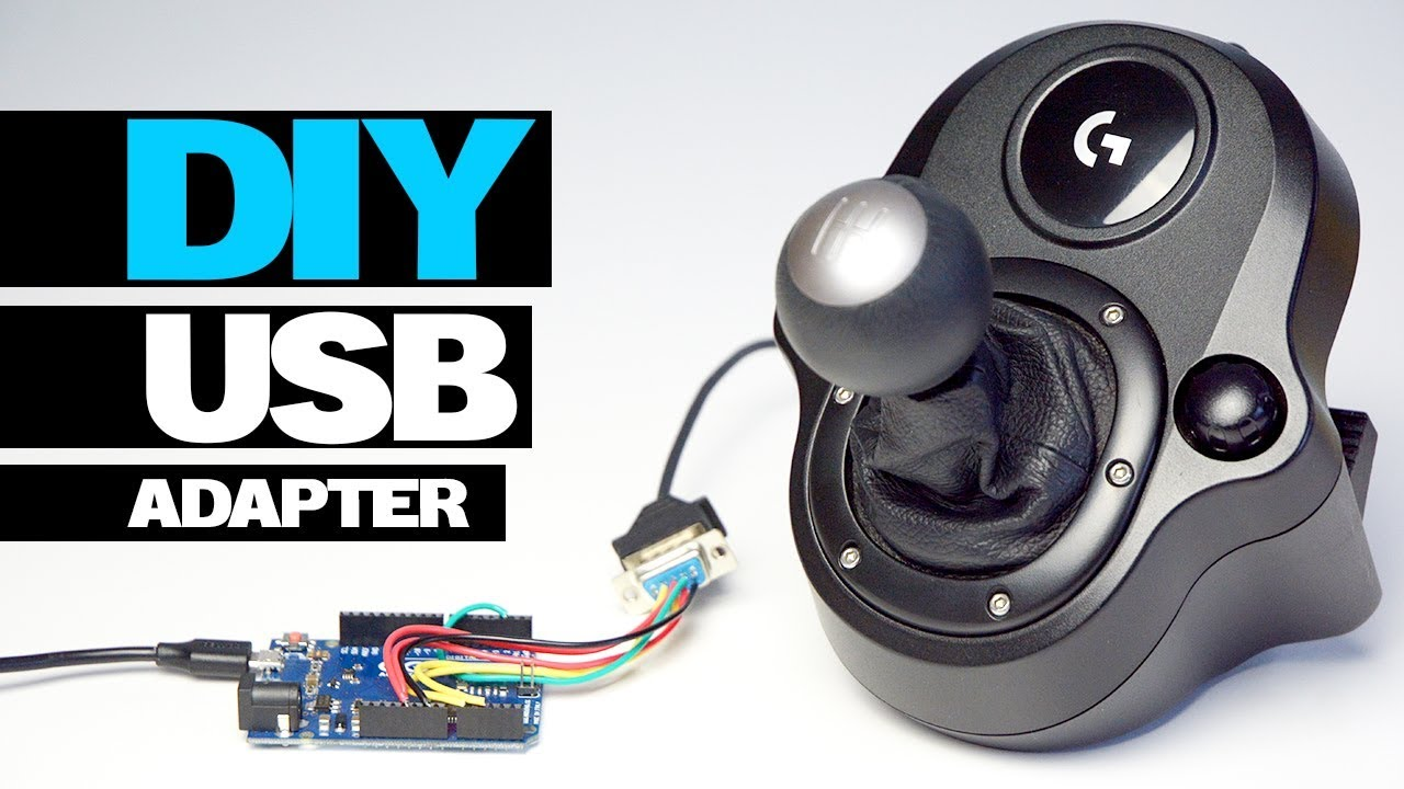 8ebe3c3f449 DIY LOGITECH USB SHIFTER ADAPTER DRIVING FORCE - YouTube