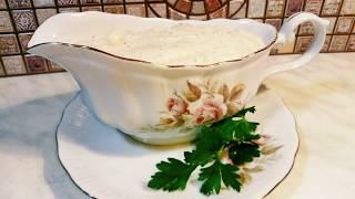 Рецепт классического соуса бешамель с мускатным орехом