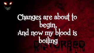 Disturbed- The Animal (Lyrics)