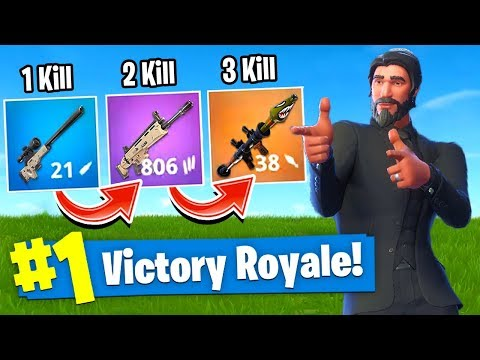 The GUN GAME *CHALLENGE* In Fortnite Battle Royale!
