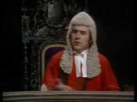 Monty Python - Court Scene