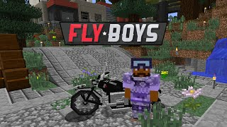 Flyboys Modded Minecraft 21 :: Road to War