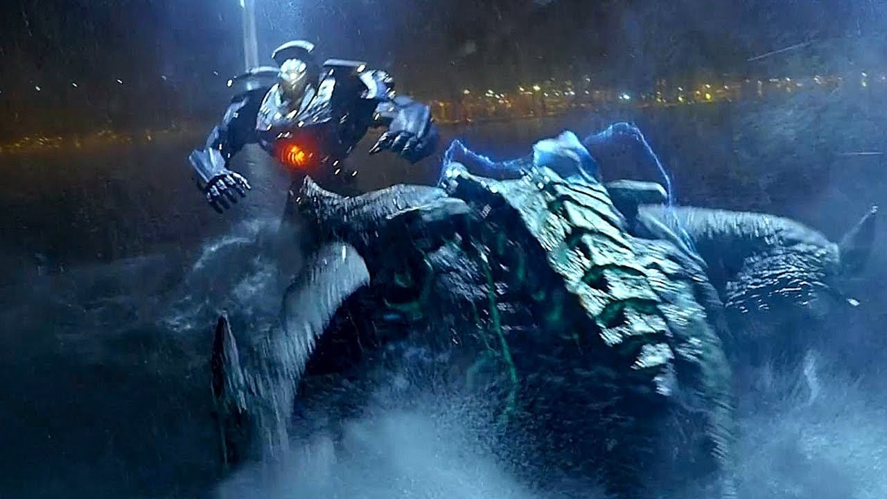 Gipsy Danger vs Leatherback - Fight Scene - Pacific Rim ... Pacific Rim 2013