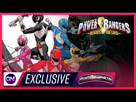 Power Rangers Heroes of the Grid HANDS ON EXCLUSIVE! // Power Morphicon