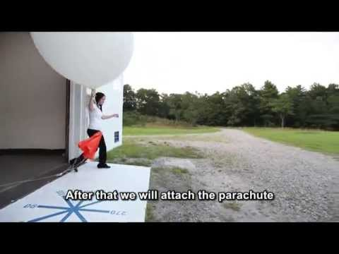 Preparing and Launching a Weather Balloon