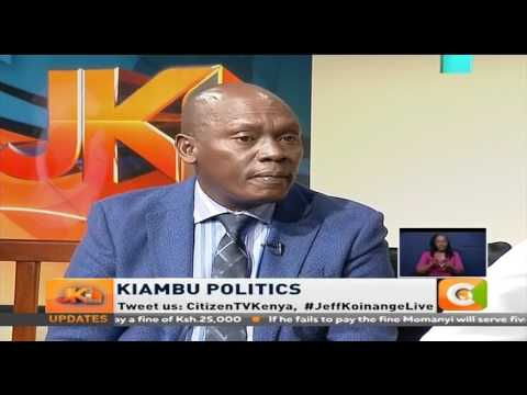 Jeff Koinange Live | Kabogo: I am not arrogant, I am firm. I stand for what I believe in