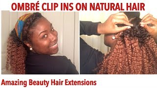 How To Style Curly Clip Ins   Amazing Beauty Hair Extensions