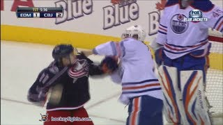 Jeff Petry vs Matt Calvert Mar 5, 2013