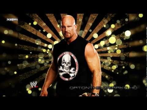 "WWF: Stone Cold Heel Theme Song - ""Glass Shatters"" [CD Quality + Lyrics]"