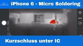 iPhone Kurzschluss finden mit Flir One Pro Wärmebild Kamera - Micro Soldering Deutsch