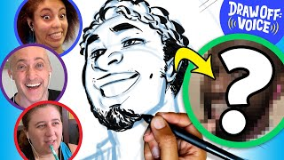 Artists Draw A Stranger Based On Voice (Ishmael) • Draw-Off Voice