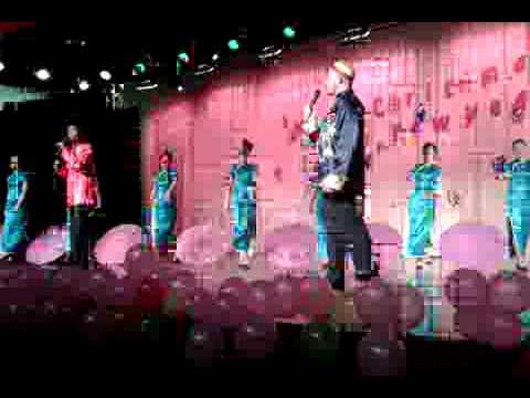 Maple Leaf Wuhan Talent Show December 2008 Umbrellas