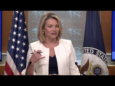 Department Press Briefing - August 28, 2018