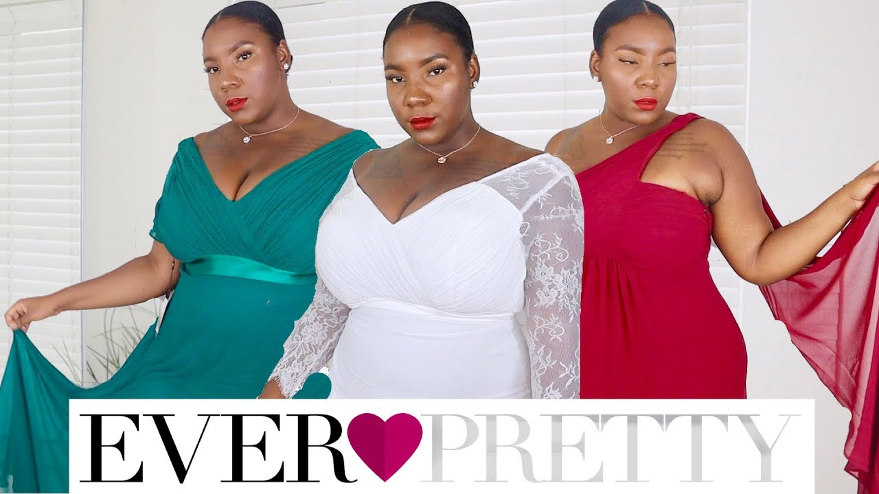 EVER PRETTY | FORMAL PLUS SIZE WEDDING DRESSES | REVIEW