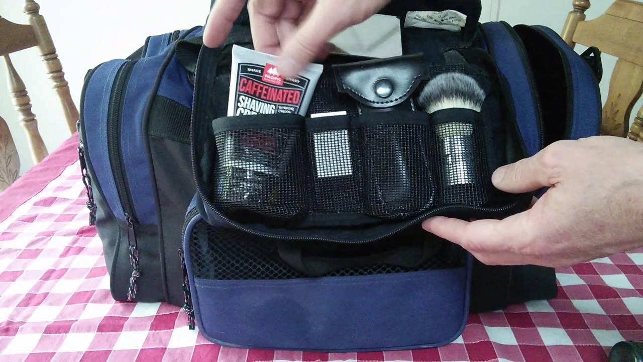 89ef0a5b98 Travel Bag and Wet Shaving Kit - YouTube