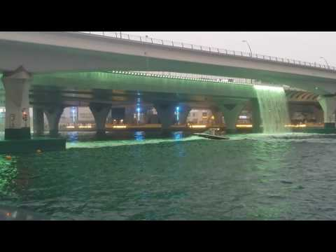 Dubai water canal boardwalk Part 1 on 19 Nov 16