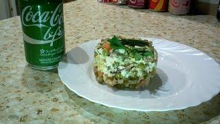 Салат Оливье  с курицей (ПП), правильное питание | Olivier Salad with chicken breast