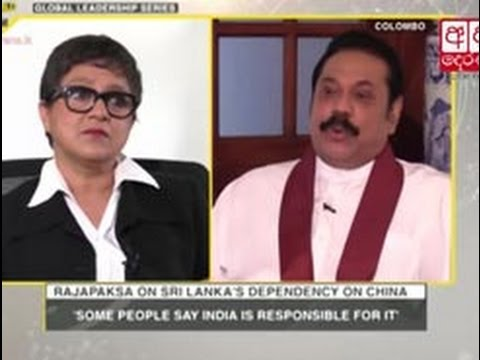 Sri Lankan government selling the country, says Rajapaksa