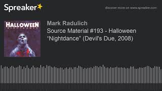 "Source Material #193 - Halloween ""Nightdance"" (Devil"