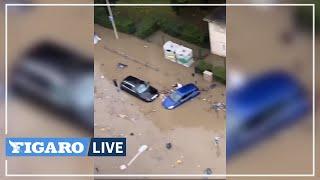 🔴Les rues de MARSEILLE inondées après de pluies diluviennes
