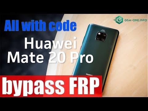 HUAWEI Bypass FRP Unlock Key Code By IMEI All Model