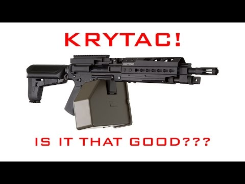 KRYTAC! IS IT THAT GOOD? | BARREL AND HOP UPGRADE | BOX MAG DISSASSEMBLY