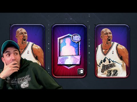 SEARCHING FOR 102 OVR'S IN NEW NICKNAME PACKS IN NBA LIVE MOBILE!