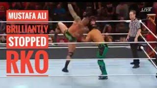 MUSTAFA ALI BRILLIANTY STOPPED RKO || HELL IN A SELL 2019 ||