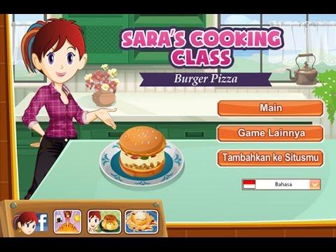 Game Memasak Online Gratis Saras Cooking Class Pizza Burgers Youtube