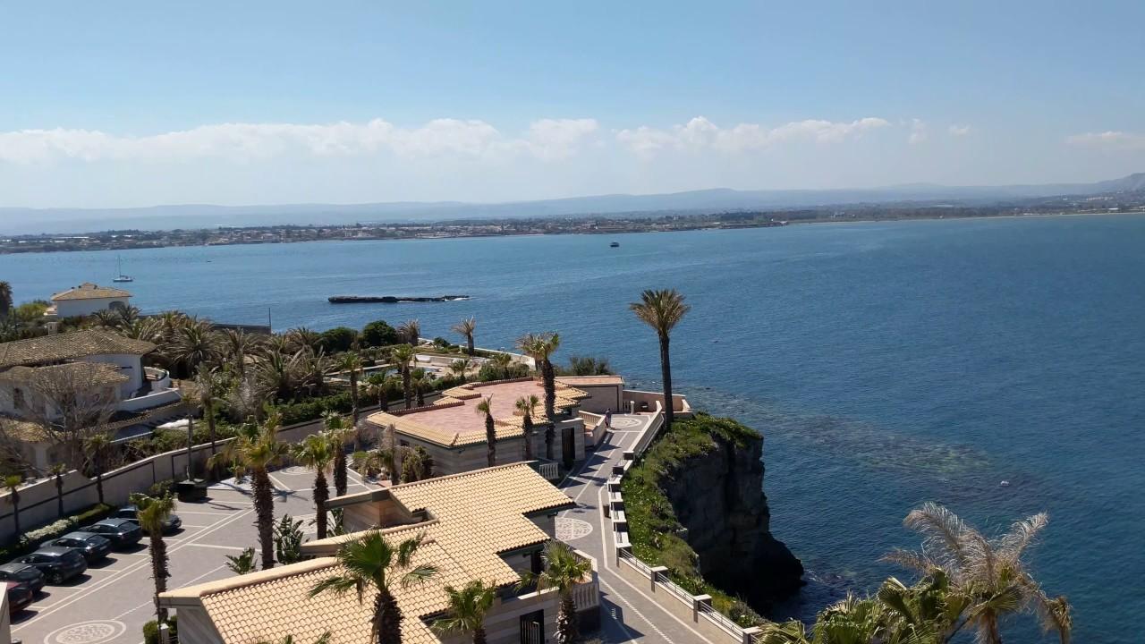 Panorama from minaret at hotel minareto siracusa sicily for Hotel panorama siracusa