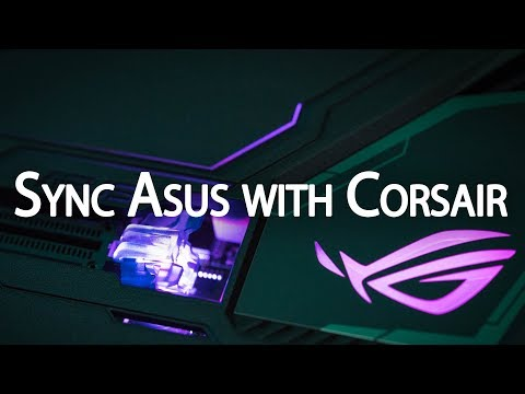 Tutorial) Sync your Asus motherboard with Corsair iCUE devices : Corsair