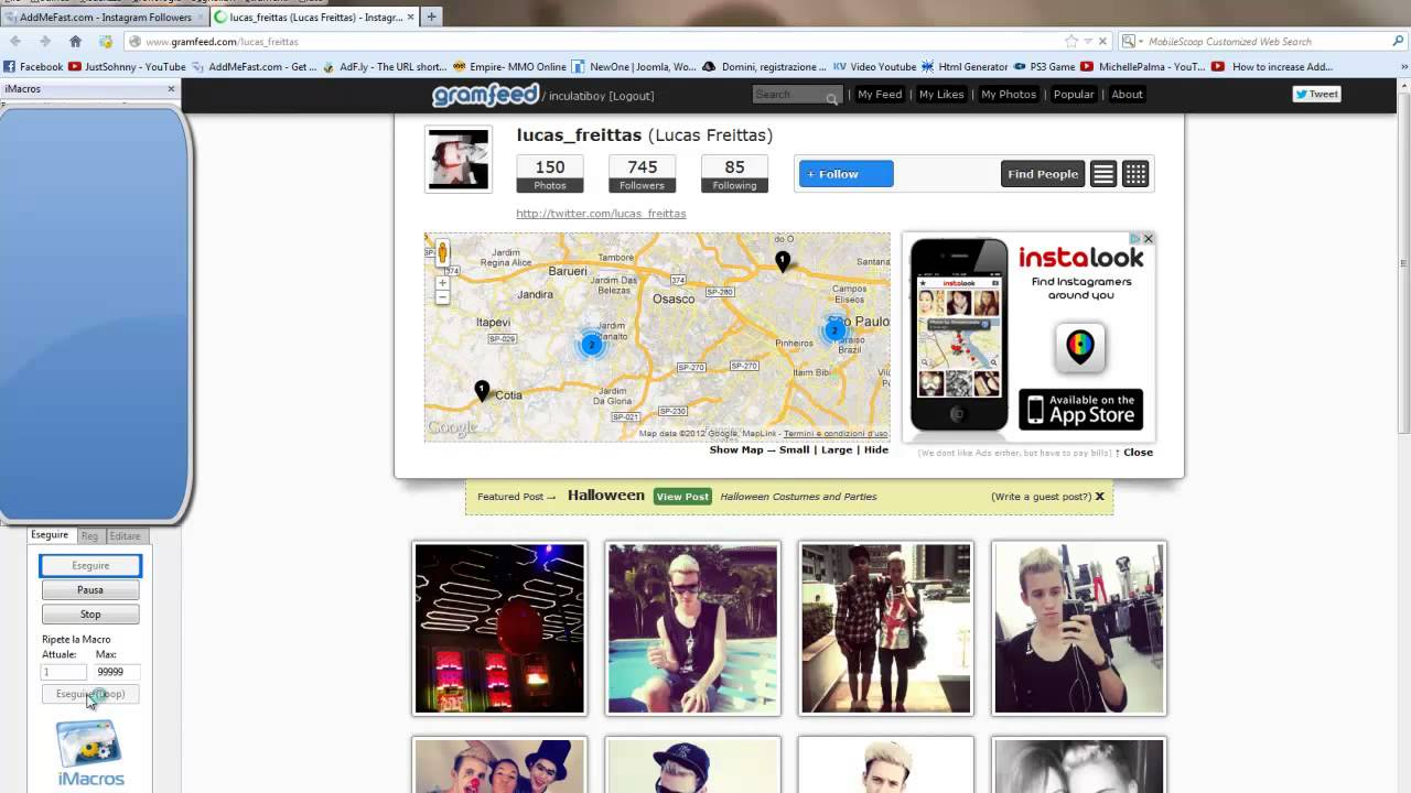 AddMeFast Instagram Followers Script free download by MasterWebTutorial