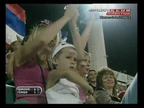 David Ferrer vs Novak Djokovic Final Dubai - Highlights 2009