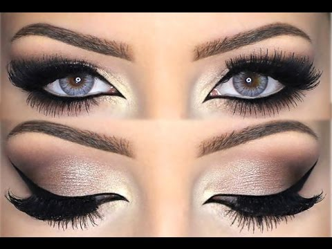 ♡ Neutral Smokey Eye | Melissa Samways ♡ - YouTube