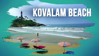 Kovalam Beach in Thiruvananthapuram