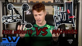 TTF EP 3:  Free weights vs Machines แบบไหนดีกว่ากัน