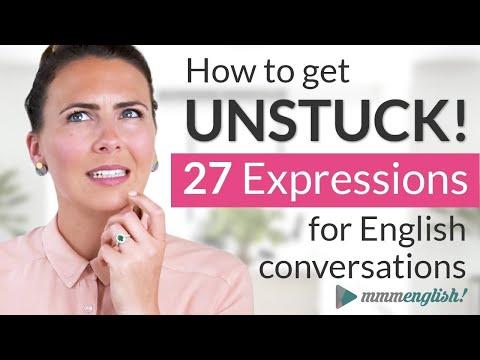 Stuck In English Conversations? Let's Get You UNSTUCK!