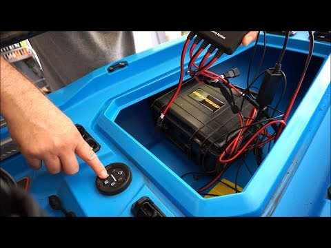 Super Easy Yak Power Electrical System Install on a Bonafide Kayak
