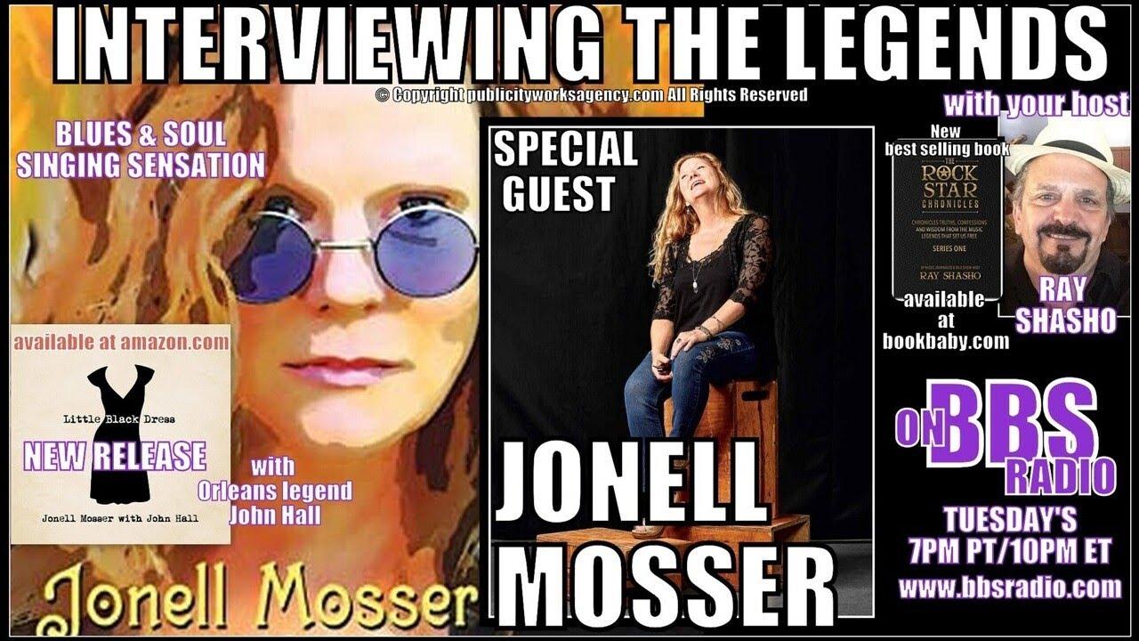 "Singer Jonell Mosser: ""I'm a hippie, honey, from way back''"