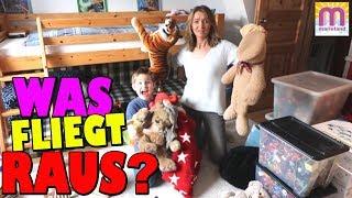 Ash's Kinderzimmer aufräumen und umstellen 🙄 Welche Spielsachen bleiben?👩 marieland Vlog #162 😘