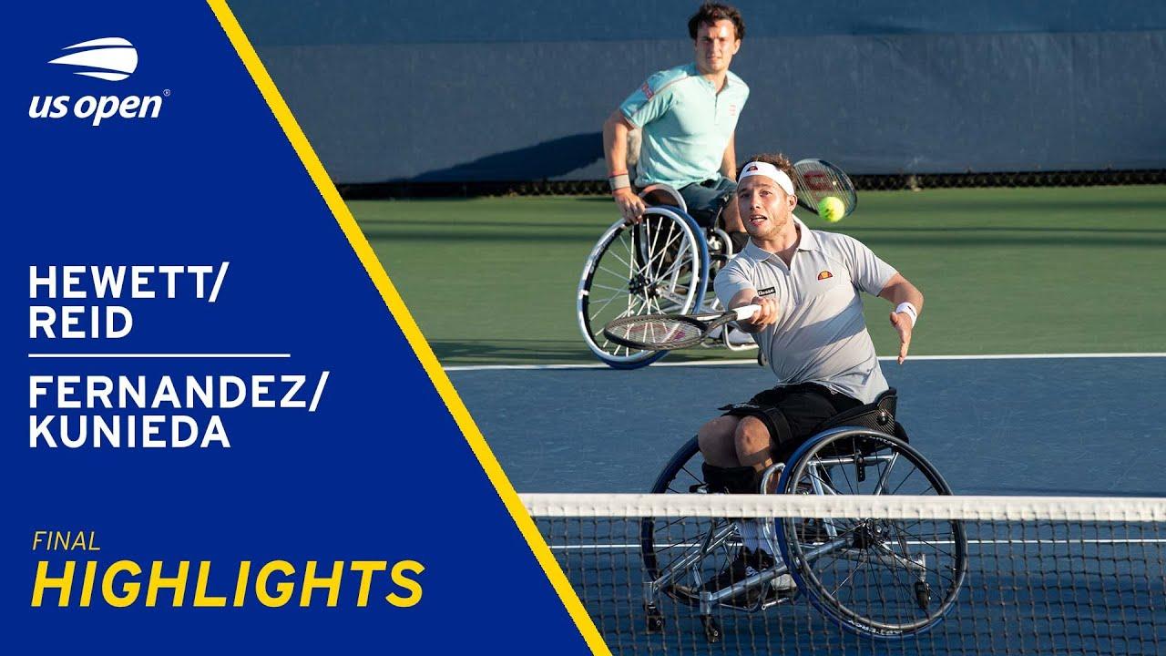 Wheelchair Men's Doubles Final | Hewett/Reid vs Fernandez/Kunieda Highlights | 2021 US Open