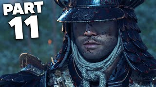 Ghost of Tsushima Gameplay Walkthrough Part 11- FULL GHOST RAGE (PS4 Pro 4K)