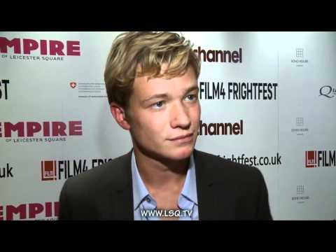 Ed Speleers Red Carpet
