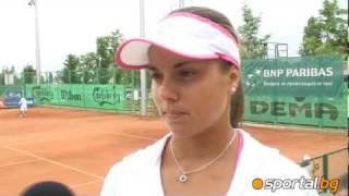 Victoria Tomova: I am glad that i beat and qualify for European Championship