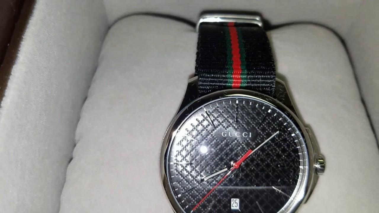 2138879e5d7 Gucci YA126321  PurchaseDirect - YouTube