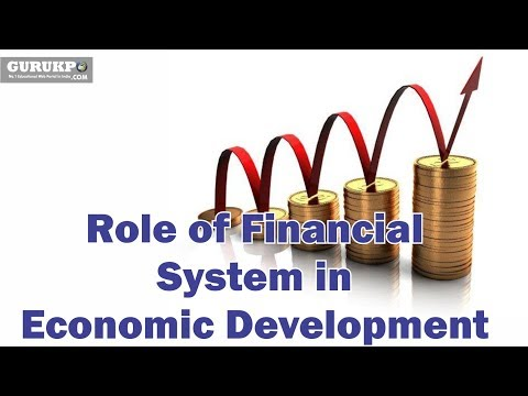 Role of Financial System in Economic Development (Management of Financial Services), Gurukpo