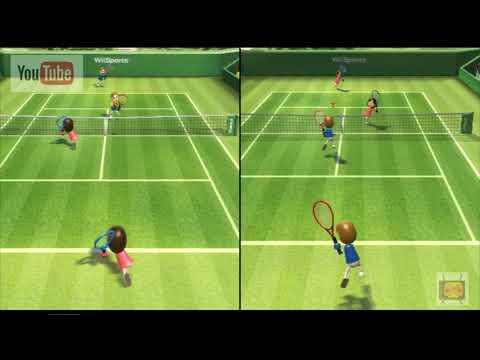 【Wii】TASさんがWii Sportsで遊んでみた【テニス】