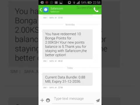 How to hack safaricom bundles