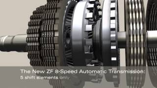 Ram ZF 8 Speed Automatic Transmission TorqueFlite 8 ZF 8HP70