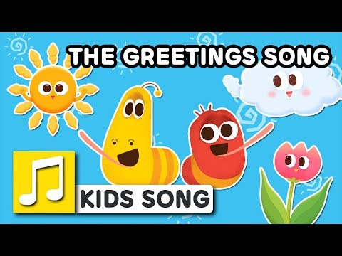 THE GREETINGS SONG | LARVA KIDS | BEST NURSERY RHYME | FAMILY SONG | 2018 FIRST SONG